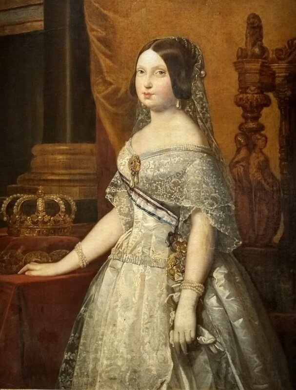 II. Izabella portréja a Museo Navalban - fotó: Marton Ildikó