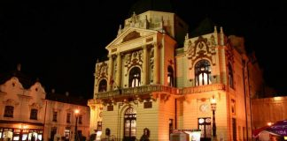 A Pécsi Nemzeti Színház épülete - forrás: PNSZ Nonprofit Kft.