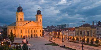 Nagytemplom és a Piac utca, Debrecen - forrás: debrecen.varosom.hu