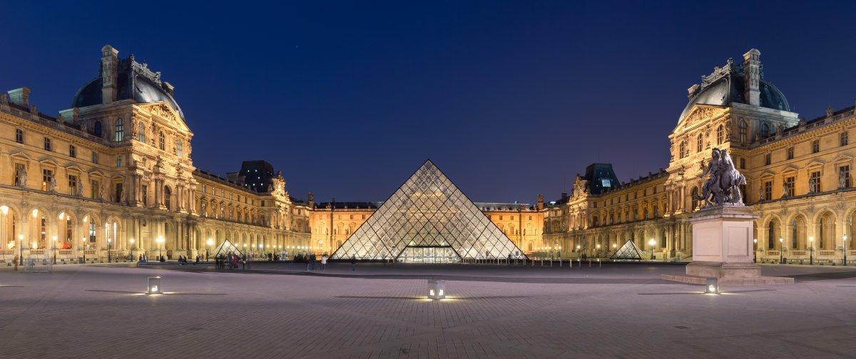 A Louvre - fotó: Wikipedia