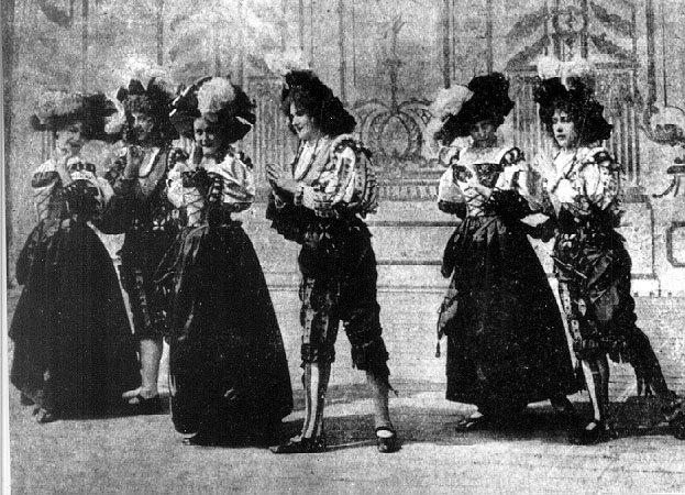 Eredeti fotogram A tánczból - forrás: wikipedia.org