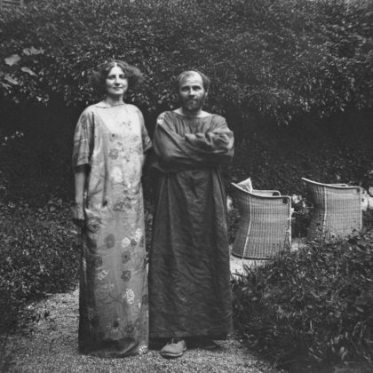 Gustav Klimt és Emilie Flöge