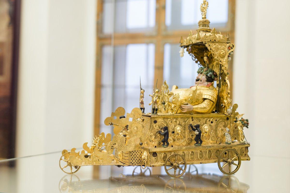 Az Esterházy-gyűjtemény által kölcsönadott darabok - fotó: Cornelia Gobauer, forrás: Esterházy Privatstiftung