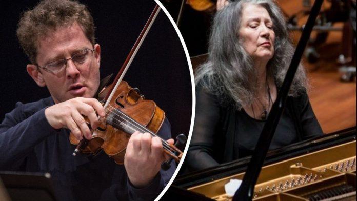 Martha Argerich és Tfrist Péter