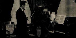 Bartók Béla és Gertler Endre a pápai koncert után egy évvel