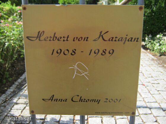 A salzburgi Karajan-ház - fotó: Kocsis Katalin / Kataliszt
