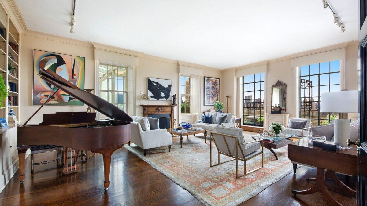 29,5 millió dollárért árulják Leonard Bernstein egykori New York-i lakását