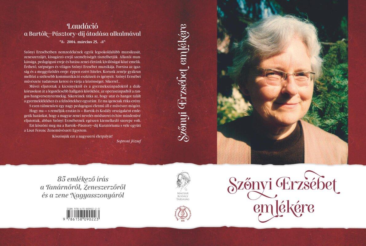 Szőnyi Erzsébet emlékére kötet jelenik meg