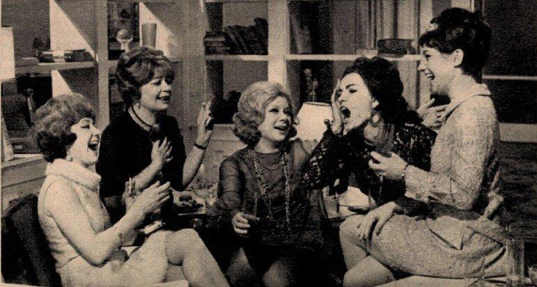 Hacser Józsa, Szemere Vera, Ruttkai Éva, Pécsi Ildikó, Csűrös Karola - Film Színház Muzsika, 1969/ 19. 27.