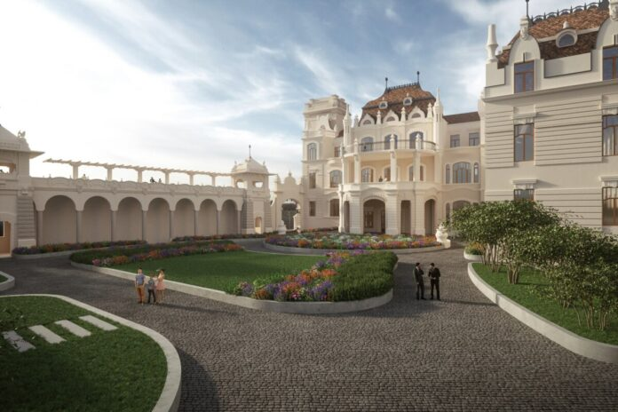 Az újjászülető palota rendezvényeknek is otthont ad majd, visszaállított reprezentatív tereit és neoreneszánsz kertjét a nagyközönség is látogathatja a jövőben.