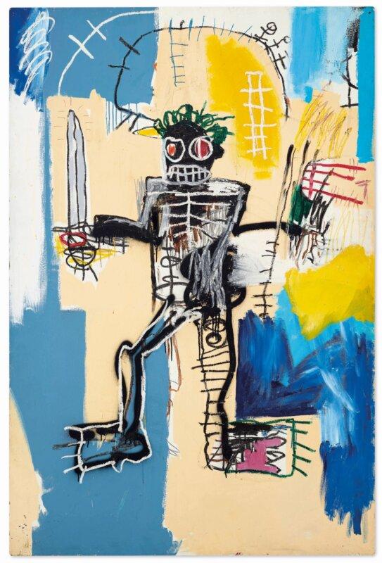 Basquiat-Warrior