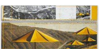 Christo és Jeanne-Claude: Az ernyők (Amerika) – forrás: Sotheby's