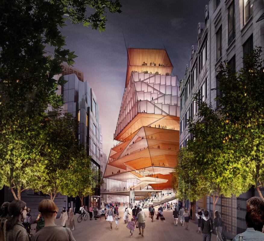 Center for Music London - forrás: Diller Scofidio & Renfro