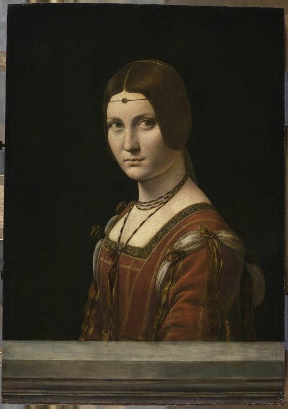 Leonardo da Vinci: Lucrezia Crivelli, La Belle Ferronnière