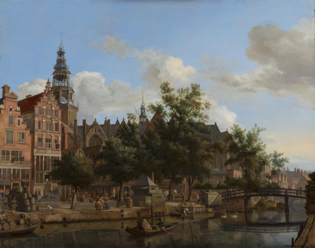 Jan van der Heyden: Amszterdam látképe