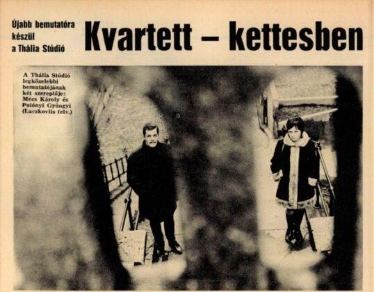 Film Színház Muzsika, 1965/ 50. 11. Arcanum