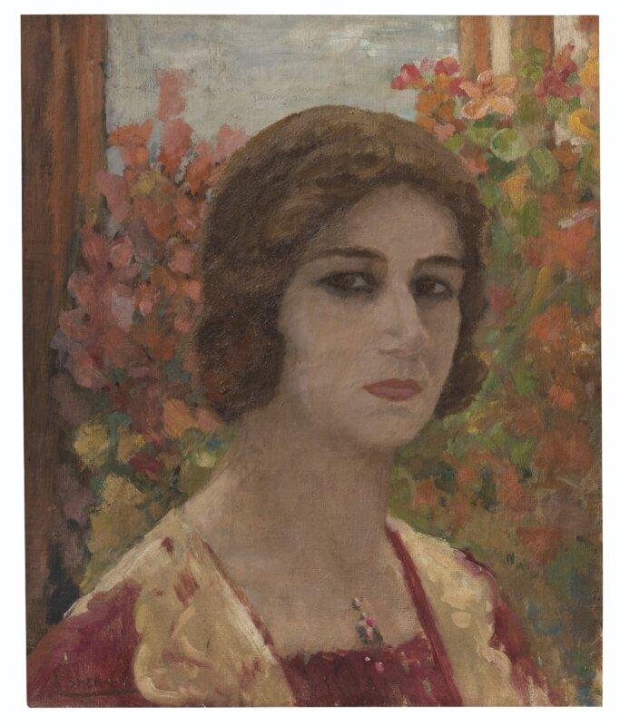 Amrita Sher-Gil: Denyse portréja forrás: Christie's