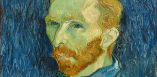 Vincent van Gogh: Önarckép 1889 - részlet
