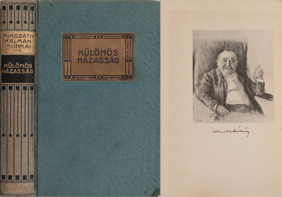 Mikszáth kálmán dedikált kötete - forrás: antikvárium.hu