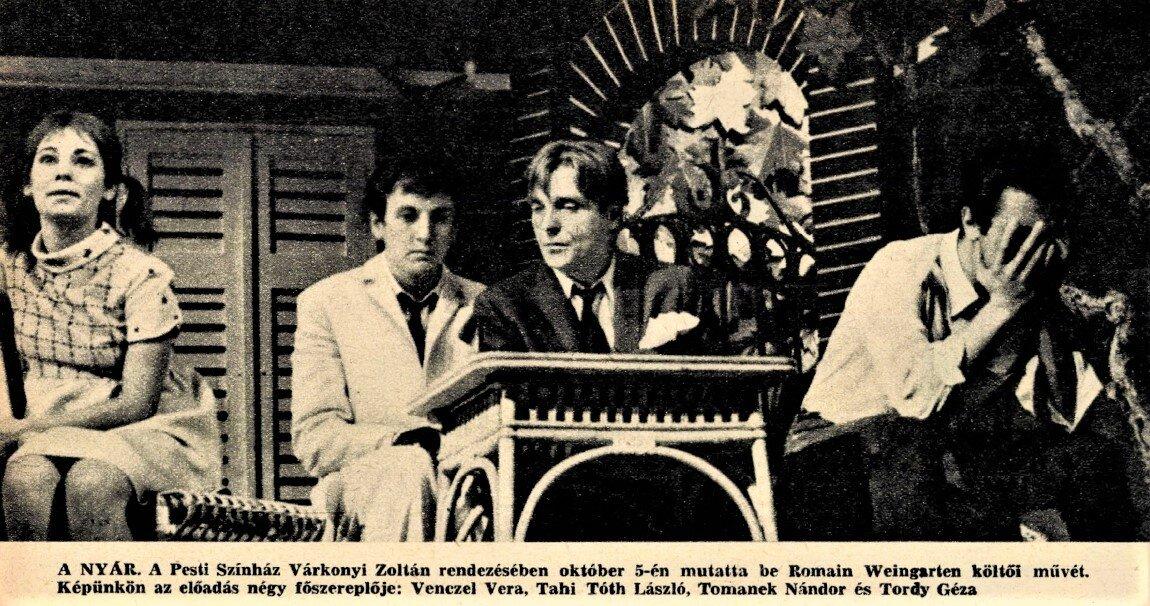 Forrás: Film Színház Muzsika, 1967/ 40. 2. Arcanum