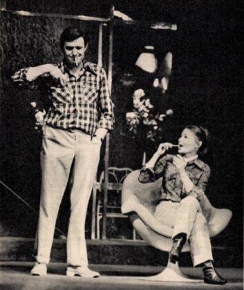 Avar Isvtán és Törőcsik Mari - forrás: Film Színház Muzsika, 1970/ 19. 3. Arcanum