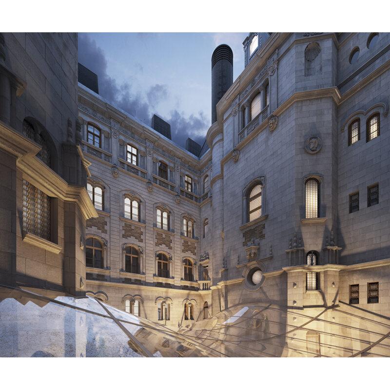 Balettintézet - forrás: dvmgroup.com