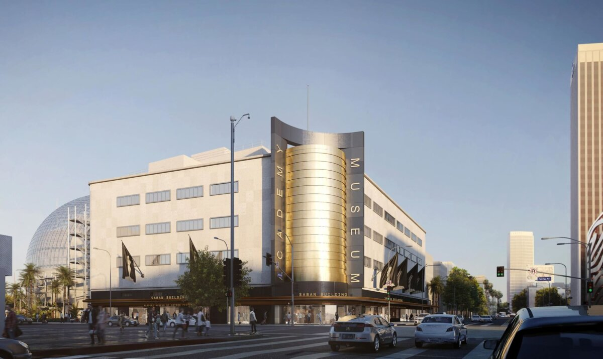 Image: Academy Museum of Motion Pictures, Wilshire Boulevard and Fairfax Avenue. ©Renzo Piano Building Workshop/©Academy Museum Foundation/Image from L'Autre Image