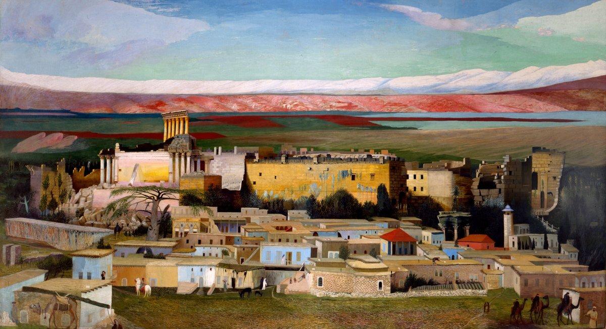 Csontváry Kosztka Tivadar - Baalbek, 1906