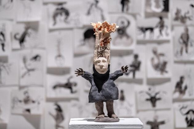 Derkó-ösztöndíjasok kiállítása a Műcsarnokban - fotó: Jekken Péter