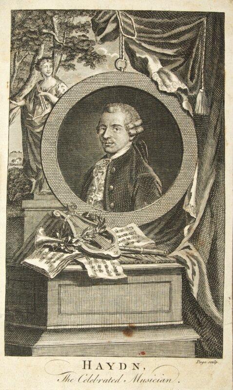 oseph Haydn - forrás: Esterházy-Kastély tematikus múzeum; Grafikai gyűjtemény; Gy/1081  - fotó: Horváth György