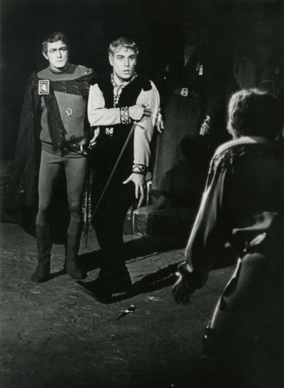 szokolay Hamlet 1968-ban Miller Lajossal - forrás: Operaház archívuma