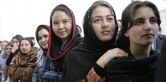afgán nők