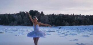 orosz balerina a jégen