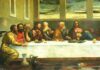 Az utolsó vacsora - Ledbury templomának Twittere