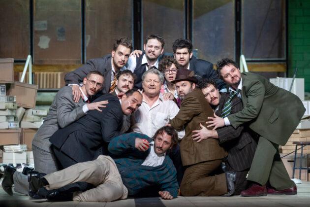 Gogol Revizorja a Vígszínházban - fotó: Jekken Péter