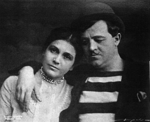 Varsányi Irén és Csortos Gyula, Liliom, Vígszínház, 1919. Forrás: Vígszínház, Papageno.hu