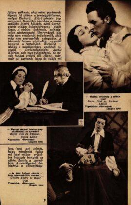 Bajor Gizi, Perényi László, Köpeczi-Boócz Lajos, Gellért Endre, Bovaryné, Vígszínház, 1937. Forrás: Színházi Élet, 1937/ 15. 9. Arcanum