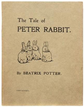 Beatrix Potter: A Nyúl Péter első, magánkiadása 1901-ből