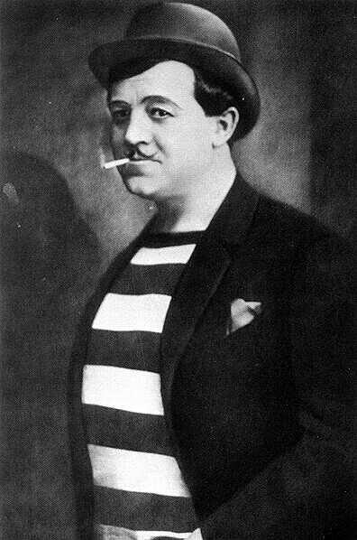 Csortos Gyula, Liliom, Vígszínház, 1919. Forrás: Wikipédia