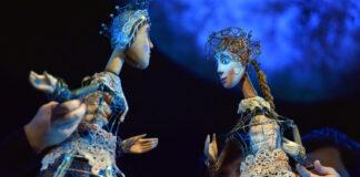 Árgyélus és Ilona - Jelenet a Harlekin Bábszínház előadásából