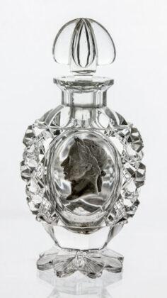 Illatszeres üveg - I. Ferenc osztrák császár portréjával - 1810 - Csehország - IM
