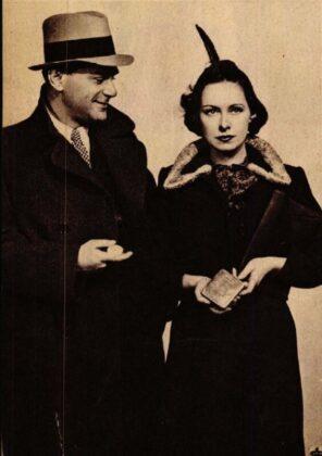 Somló István és Muráti Lili, Hajnali vendég, Vígszínház, 1938. Forrás: Színházi Élet, 1938/ 7. 10. Arcanum