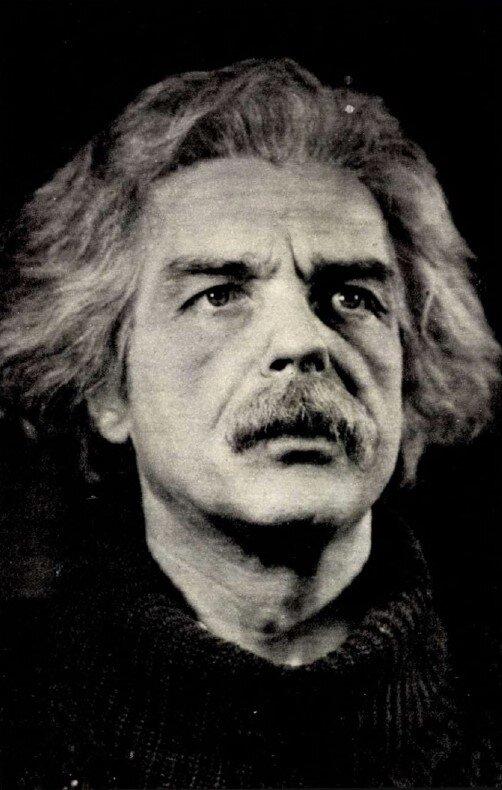 Tomanek Nándor A fizikusok Einsteinjeként, 1965-ben. Forrás: Film Színház Muzsika, 1988/ 33. 5. Arcanum