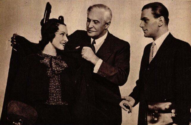 Muráti Lili, Somlay Artúr, Somló István, Hajnali vendég, Vígszínház, 1938. Színházi Élet, 1938/ 7. 12. Arcanum