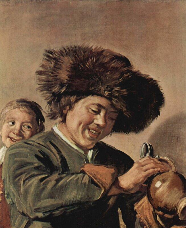 Frans Hals: Két nevető fiú - forrás: wikipedia