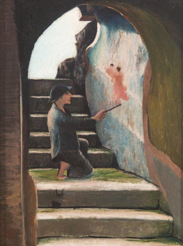 Csontváry Kosztka Tivadar: Festőlegény, 1898