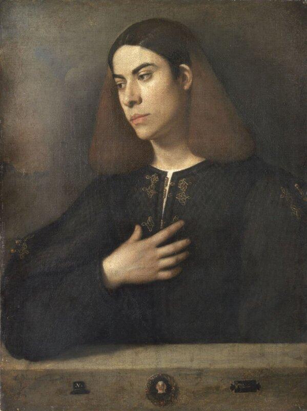 Giorgione: Ifjú képmása, 1508-1510 körül