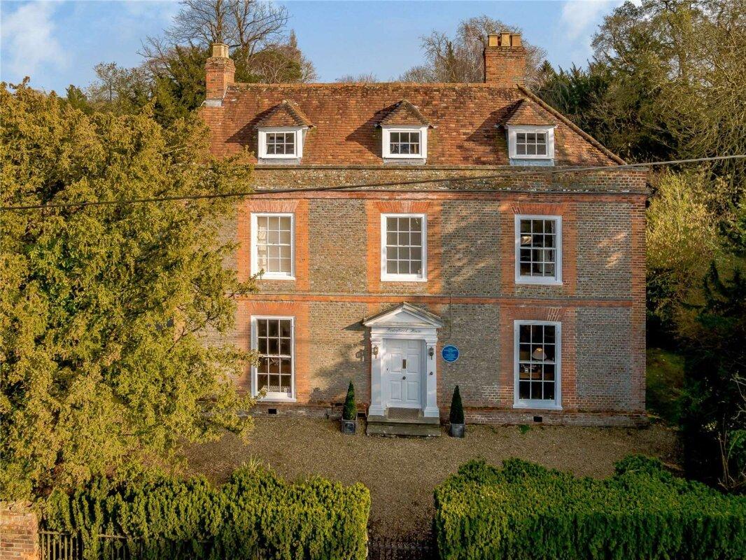 Winterbrook House, Agatha Christie háza - forrás: Savills