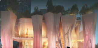 Sencseni Nemzetközi Előadóművészeti Központ Látványtervek: ZDA/The Greypixel