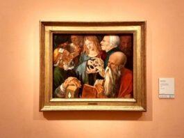 Albrecht Dürer: Jézus a doktorok között (1506), Madrid, Museo Nacional Thyssen Bornemisza - Fotó: Marton Ildikó